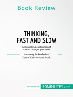 Book Review: Thinking, Fast and Slow by Daniel Kahneman: A compelling exploration of human thought processes