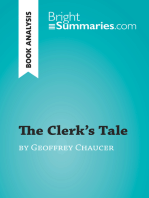 The Clerk's Tale by Geoffrey Chaucer (Book Analysis)