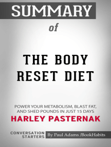 Summary of The Body Reset Diet: Power Your Metabolism, Blast Fat, and Shed Pounds in Just 15 Days | Conversation Starters