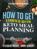 Keto Meal Plan for Beginners - How to Get Started with Keto Meal Planning