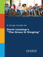 """A Study Guide for Doris Lessing's """"The Grass Is Singing"""""""