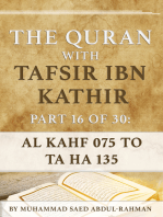 The Quran With Tafsir Ibn Kathir Part 16 of 30