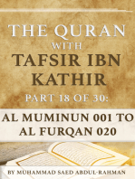 The Quran With Tafsir Ibn Kathir Part 18 of 30