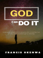 God Can Do It