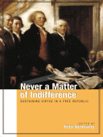 Never a Matter of Indifference