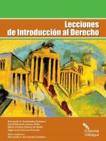 Lecciones de Introducción al Derecho