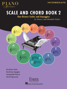 Piano Adventures Scale and Chord Book 2: One-Octave Scales and Chords