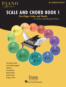 Piano Adventures Scale and Chord Book 1: Five-Finger Scales and Chords