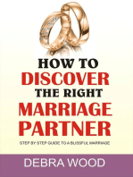 How To Discover The Right Marriage Partner