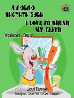 I Love to Brush My Teeth (Ukrainian English Bilingual Book)