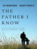The Father I Know