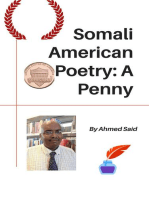 Somali American Poetry