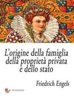 L'origine della famiglia, della proprietà privata e dello stato