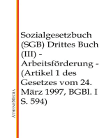 Sozialgesetzbuch (SGB) - Drittes Buch (III)