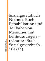 Sozialgesetzbuch - Neuntes Buch