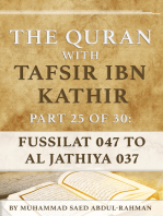 The Quran With Tafsir Ibn Kathir Part 25 of 30