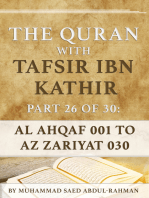 The Quran With Tafsir Ibn Kathir Part 26 of 30