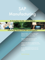 SAP Manufacturing A Complete Guide - 2019 Edition
