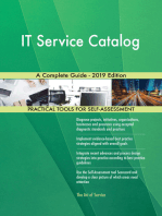 IT Service Catalog A Complete Guide - 2019 Edition
