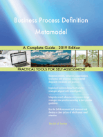 Business Process Definition Metamodel A Complete Guide - 2019 Edition