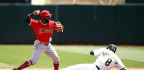 Angels Beat Athletics In 11 Innings Behind Rookie Cesar Puello's Firsts