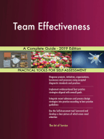 Team Effectiveness A Complete Guide - 2019 Edition