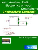 Learn Amateur Radio Electronics On Your Smartphone