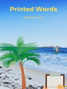 Printed Words - Summer 2019