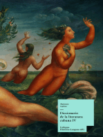 Diccionario de la literatura cubana IV