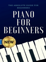 Piano for Beginners: The Absolute Guide for Beginners