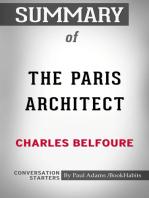 Summary of The Paris Architect