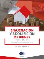 Enajenación y adquisición de bienes. Personas físicas 2019