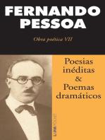 Poesias inéditas e poemas dramáticos