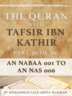 The Quran With Tafsir Ibn Kathir Part 30 of 30
