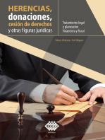 Herencias, donaciones, cesión de derechos y otras figuras jurídicas. Tratamiento legal y planeación financiera y fiscal 2019