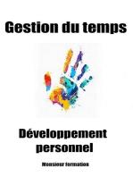 Gestion du temps: Développement personnel