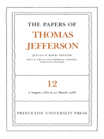 The Papers of Thomas Jefferson, Volume 12
