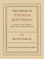 The Papers of Thomas Jefferson, Volume 13