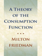 Theory of the Consumption Function