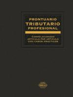 Prontuario Tributario correlacionado artículo por artículo con casos prácticos. Profesional 2019