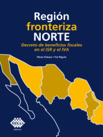 Región fronteriza norte. Decreto de beneficios fiscales en el ISR y el IVA 2019