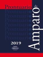 Prontuario de Amparo 2019