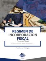 Régimen de Incorporación Fiscal. Personas físicas 2019