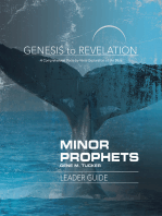 Genesis to Revelation Minor Prophets Leader Guide