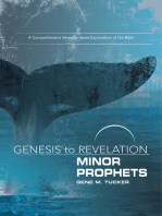 Genesis to Revelation Minor Prophets Participant Book [Large Print]