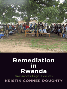 Remediation in Rwanda: Grassroots Legal Forums