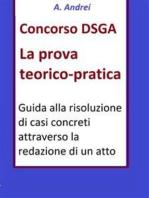Concorso DSGA Prova Teorico Pratica