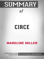 Summary of Circe by Madeline Miller   Conversation Starters