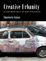 Creative Urbanity: An Italian Middle Class in the Shade of Revitalization
