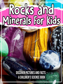 Rocks and Minerals For Kids: Discover Pictures and Facts - A Children's Science Book